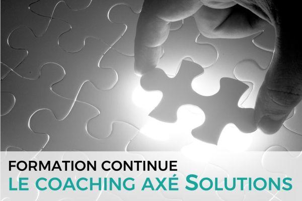 Le coaching axé Solutions