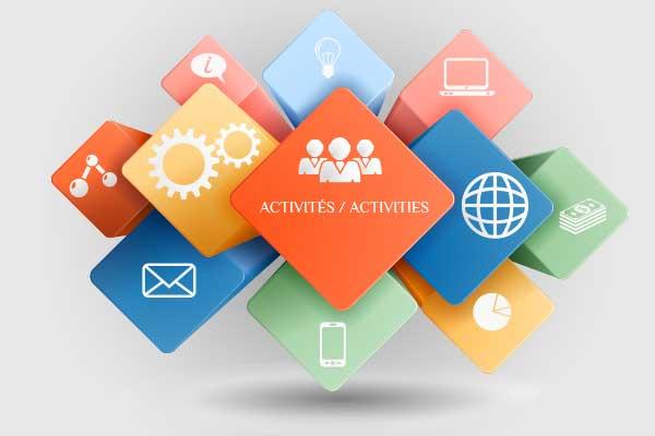 Activités à venir - Janvier 2020