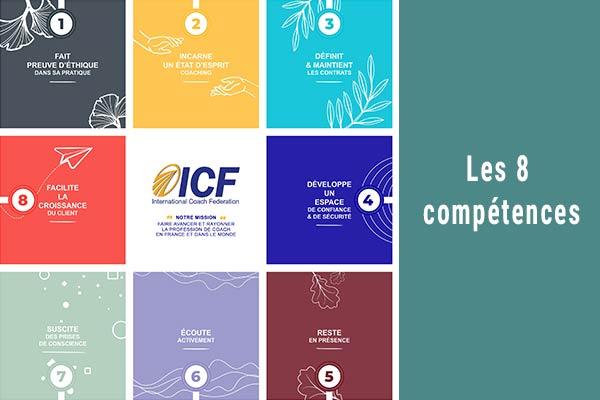 Mise à jour du référentiel des compétences clés de coaching de l'ICF